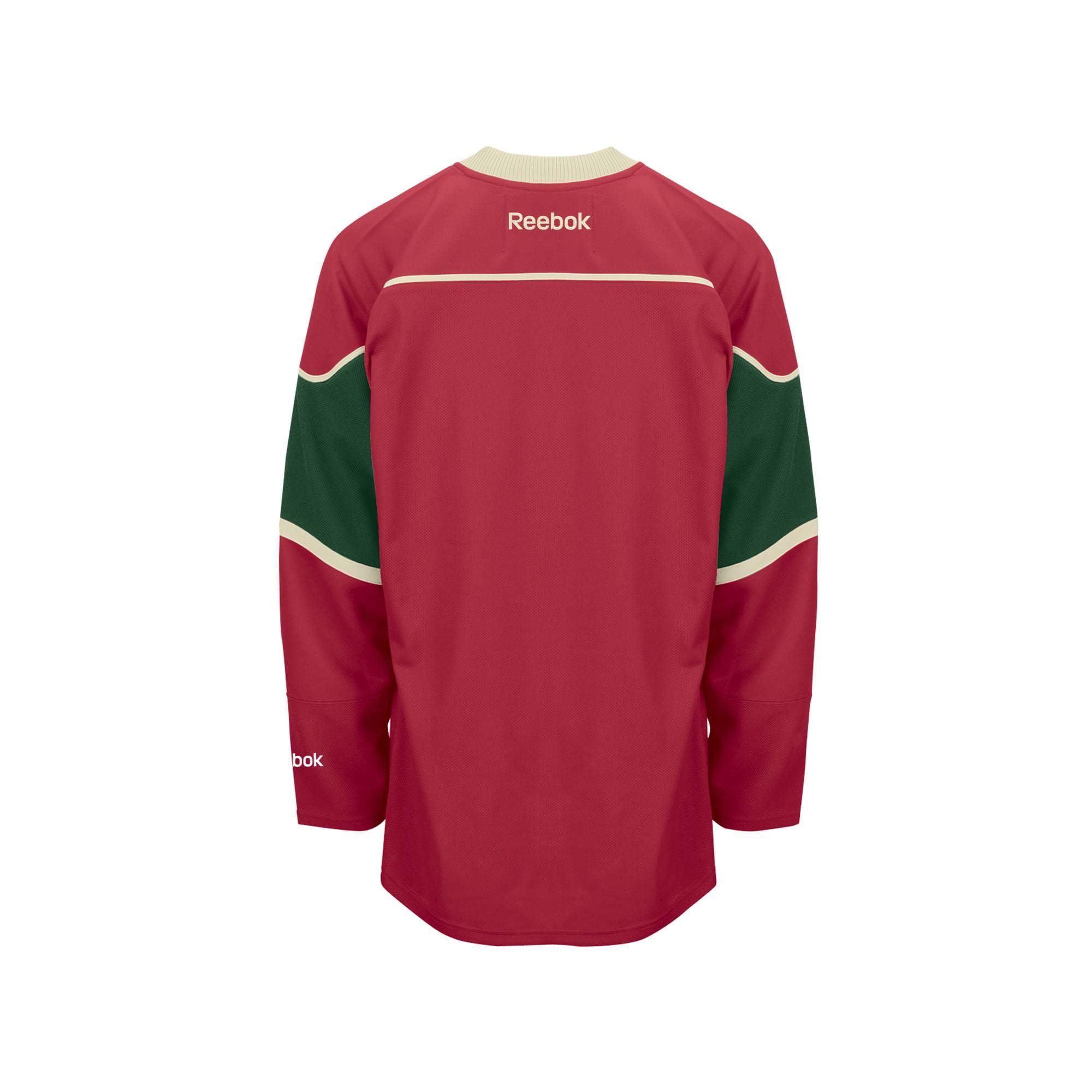 eaf8ea37 Reebok Minnesota Wild Youth Premier Home Jersey - Green - L/XL ...