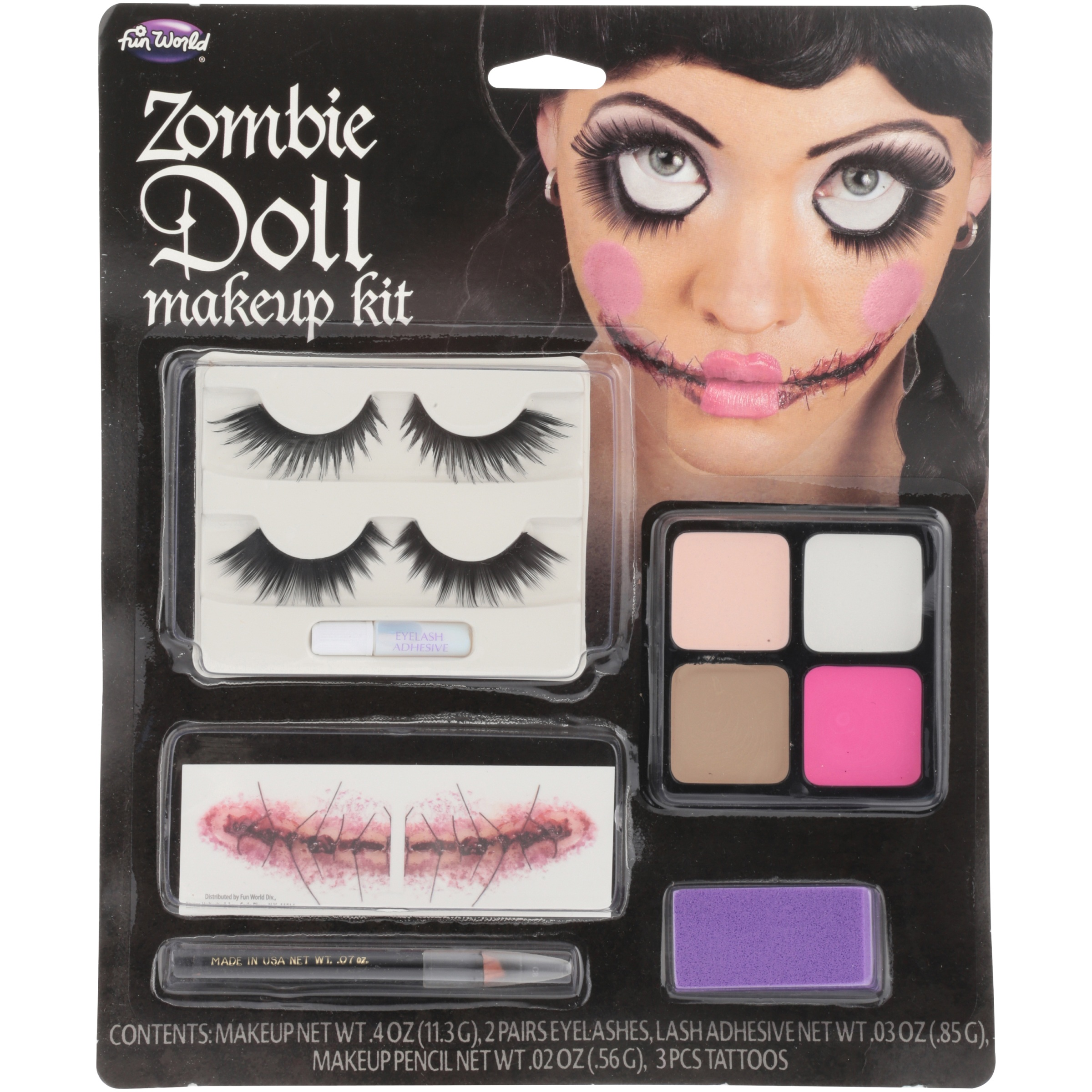67303a07bed Zombie Doll Makeup Kit | Saubhaya Makeup