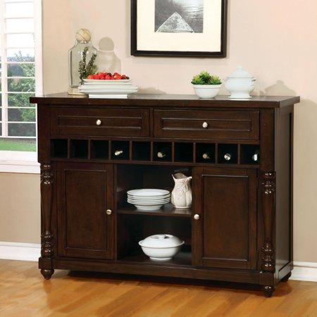 Furniture of America Perren Multiple Storage Dining Server