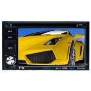 "Boss BV9362BI Car DVD Player - 6.2"" Touchscreen LCD Display - 1440 x 234 - 320 W RMS - iPod/iPhone Compatible - In-dash - Double DIN - DVD Video, MPEG-4, SVCD, Video CD, SDVD - AM, FM - Secure Digital"