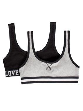7c3960db87dab Product Image Girls Cotton Stretch Sports Bra