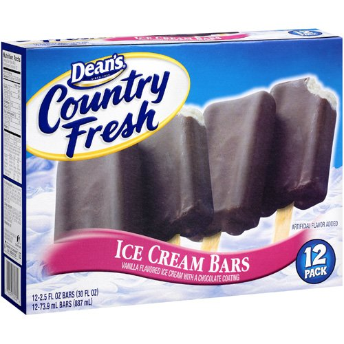 Dean's Country Fresh Ice Cream Bars, 30 oz