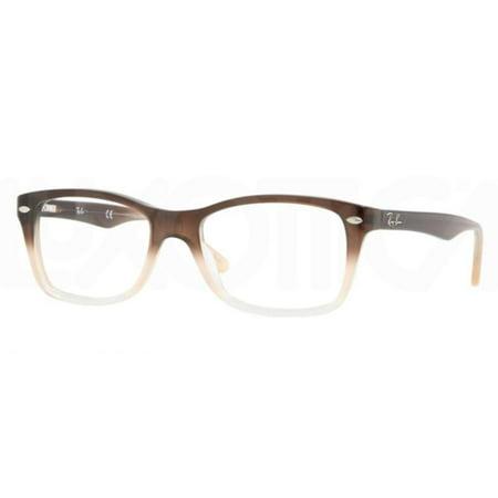 d8c09f6495a Eyeglasses Ray-Ban Optical RX 5228 5043 BROWN GRADIENT OPAL SAND -  Walmart.com
