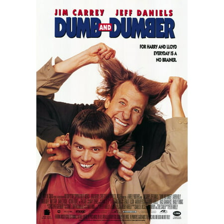 Dumb and Dumber (1994) 27x40 Movie Poster](Dumb And Dumber Zombies Halloween)