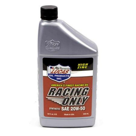 Lucas Oil Racing 20w50 Motor Oil 1 Qt P N 10615