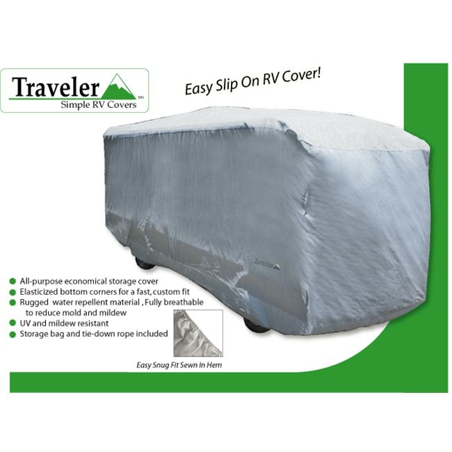 Traveler Series Class A RV Cover in Gray (480 in. to 504 in.)