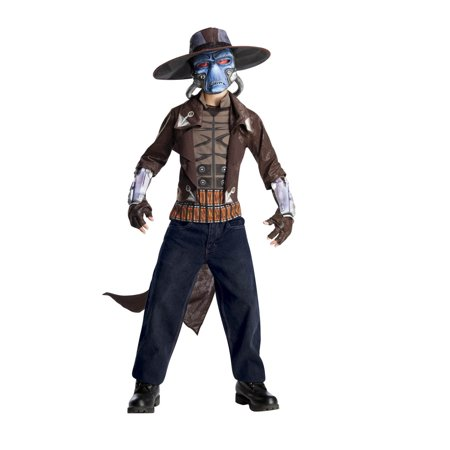 Star Wars Boys Deluxe Cad Bane Costume (Medium) - Bane Costumes For Sale