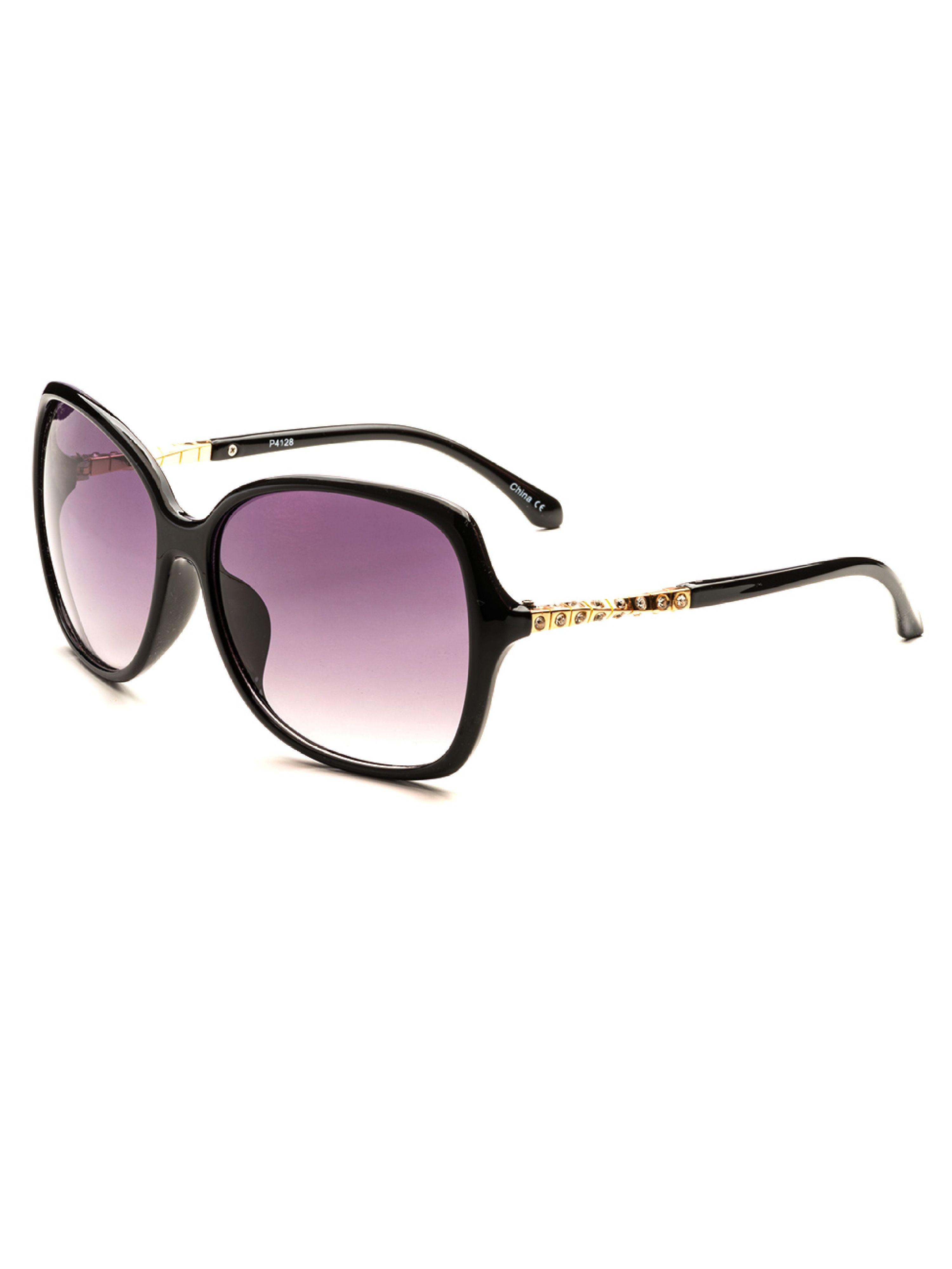 0dc09ba242 POP Fashionwear - Women s Oversized Sunglasses P2419 - Walmart.com