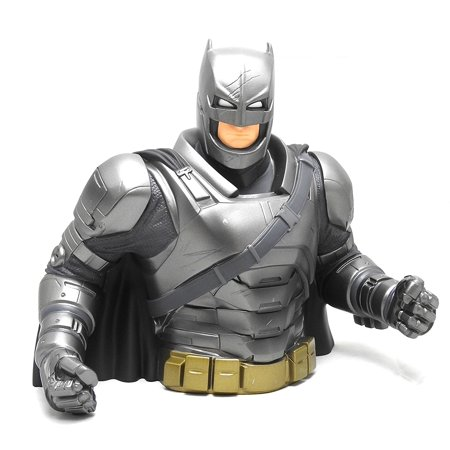 - Batman v Superman Vinyl Bust Bank: Armored Batman