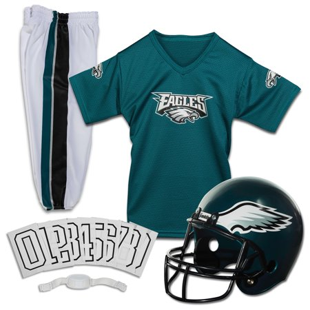 f13fbec7 Franklin Sports NFL Philadelphia Eagles Youth Licensed Deluxe Uniform Set,  Large