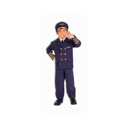 Cheap Pilot Costume (CHCO-AIRLINE PILOT-SMALL)