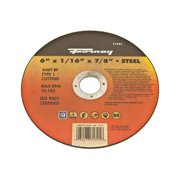 Forney 71791 6 x 0.06 in. Cutting & Grinding Wheel