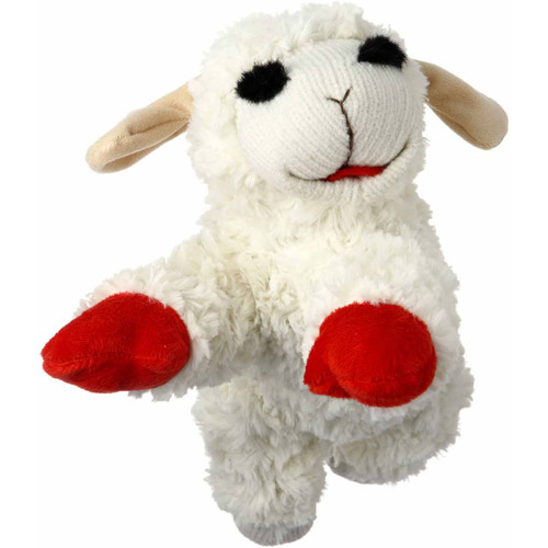 "Multipet International Inc 48371 6"" Lamb Chop"
