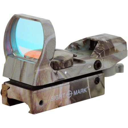Sightmark Sure Shot Red Dot Sight Camo, Dove Tail Mount ()