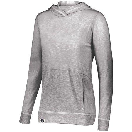 Holloway Sportswear S Womens Journey Hoodie Silver 229785 ()