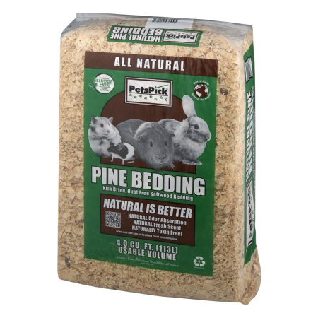 AWF Pets Pick Wood Shavings Pine Bedding 1200 CU.