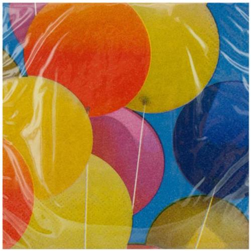 DDI 1346621 18 Pack Balloons Beverage Napkins Case Of 24