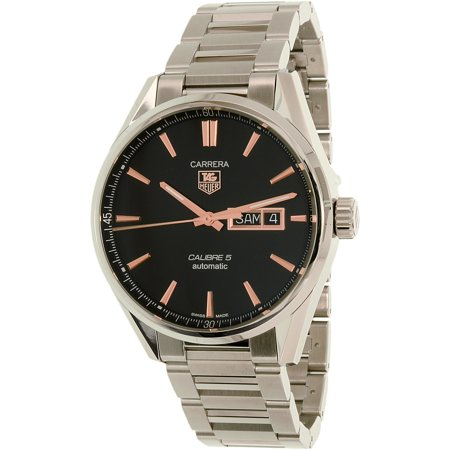 Tag Heuer Men's Carrera WAR201C. BA0723 Silver Stainless-Steel Swiss Automatic Watch