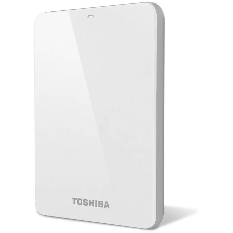 Toshiba Canvio Connect 1TB External USB 3.0 Hard Drive White HDTC710XW3