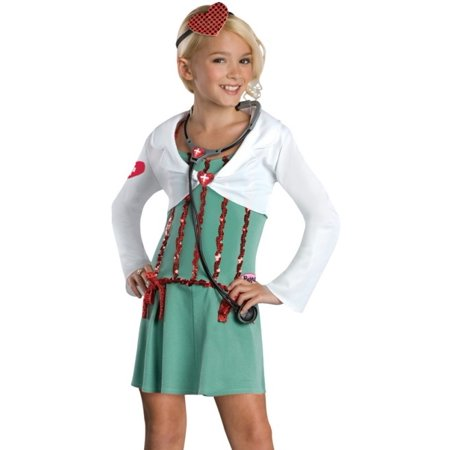 Rubies Girls Bratz Doll Doctor Outfit Kids Halloween Costume - Doctor Halloween Costume Girl