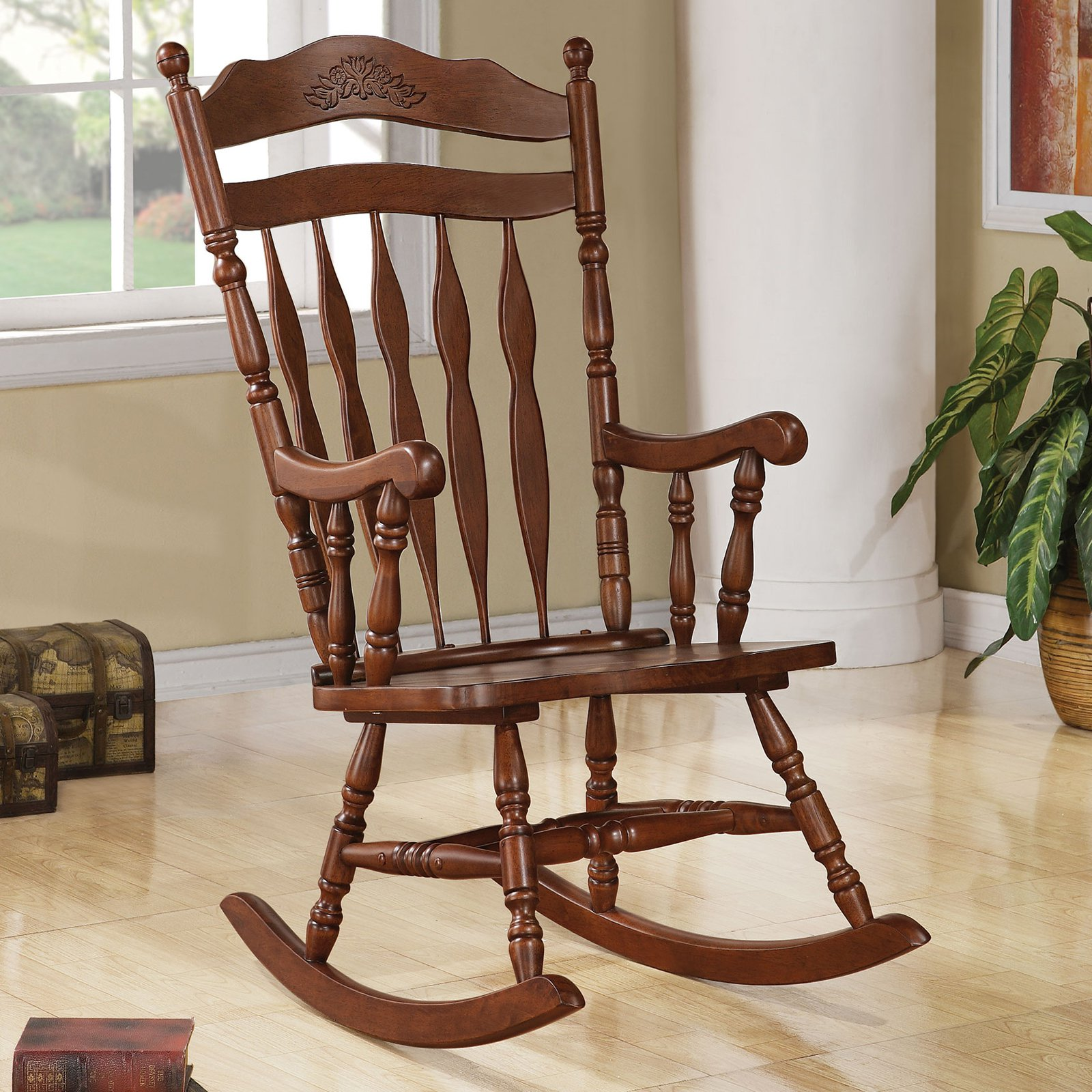 Coaster Milton Indoor Rocking Chair