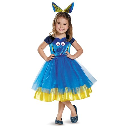 Dora Toddler Costume (Toddler Finding Dory Deluxe Tutu Costume Disguise)