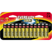 EVEREADY GOLD AA Batteries, 24-Pack