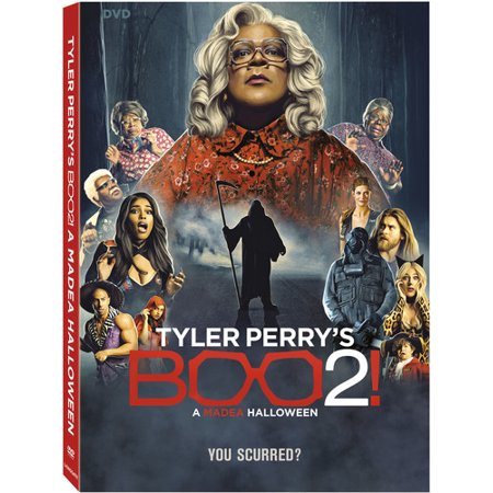 Tyler Perry's Boo 2! A Madea Halloween (DVD) (Boo Crew Halloween Party Supplies)