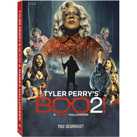 Tyler Perry's Boo 2! A Madea Halloween (DVD) (Scary Animated Halloween Movies)
