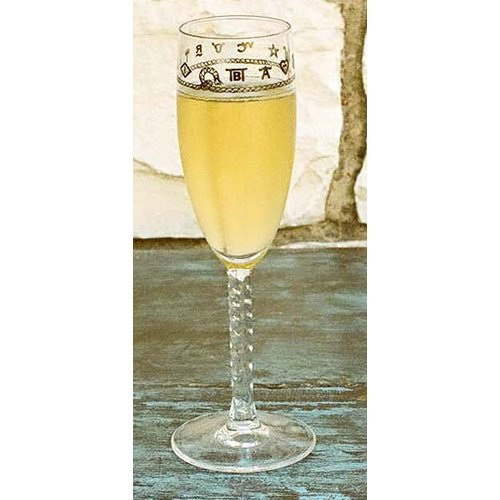 West Creation Western 6 oz. Champagne Flute (Set of 4)