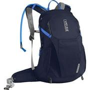 camelbak women's helena 20 crux reservoir hydration pack, navy blazer/amparo blue, 2.5 l/85 oz