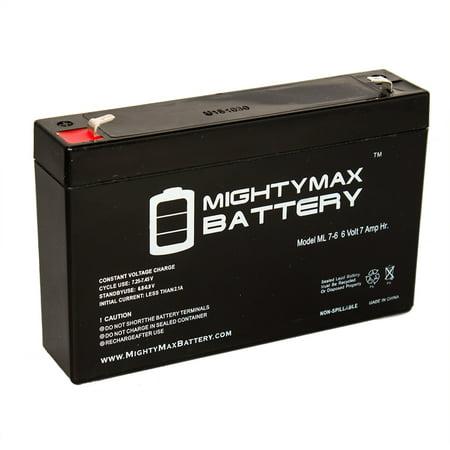 6V 7Ah Sla Battery Replaces Rastar Lamborghini Aventador Lp700 4