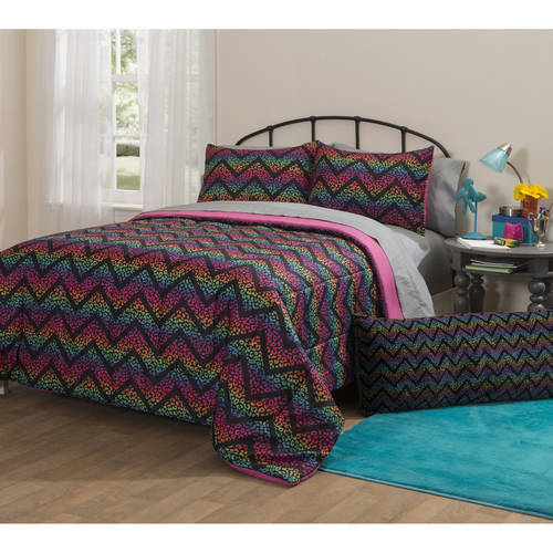 Latitude Ombre Cheetah Bed in a Bag Bedding Set