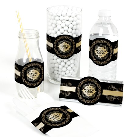 Roaring 20's - DIY Party Supplies - 1920s Art Deco Jazz Party DIY Party Favors & Decorations - Set of 15](1920's Decoration)