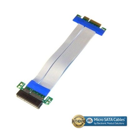 PCI-E Express 4X Riser Card with Flexible Cable, 12 Inches - Pci Riser Card