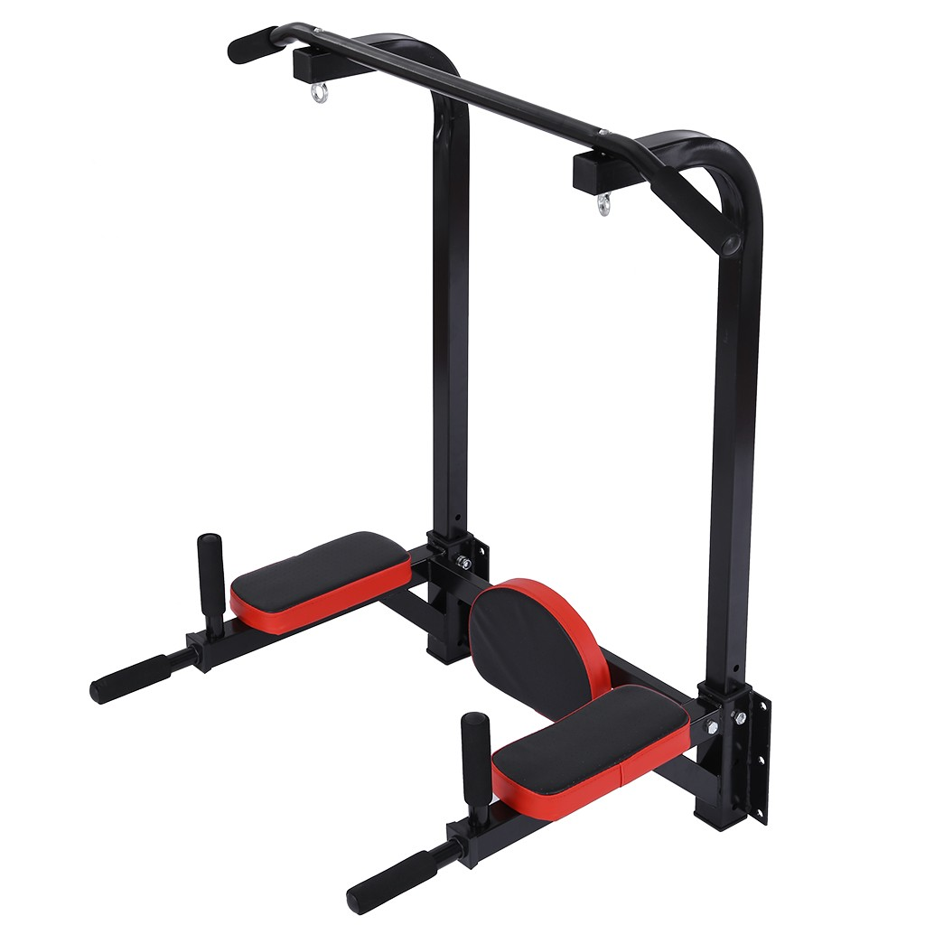 Multifunctional Wall Mounted Pull Up Bar Chin Up Station Home Gym Multi Function