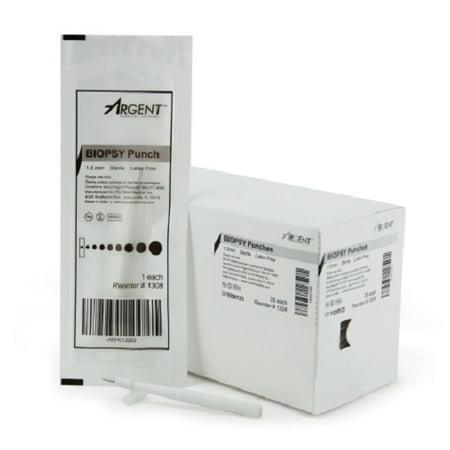 McKesson Argent Dermal Biopsy Punch  1.5 mm - 1 Count - Kevorkian Biopsy Punch