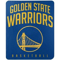"Golden State Warriors The Northwest Company 50"" x 60"" Layup Fleece Throw Blanket"