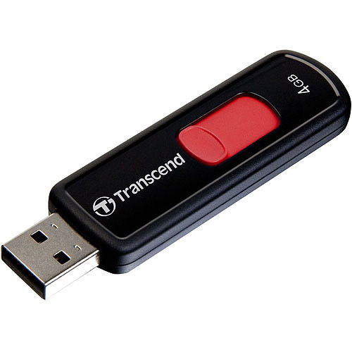 Transcend 4GB JetFlash 500 USB 2.0 Flash Drive