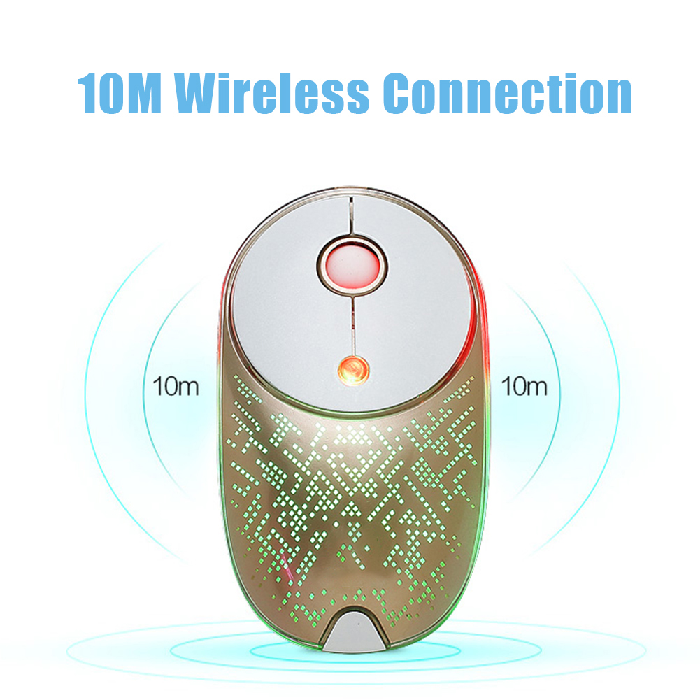 Wireless Mouse USB Thin& Light Universal Gaming Optical Mouse