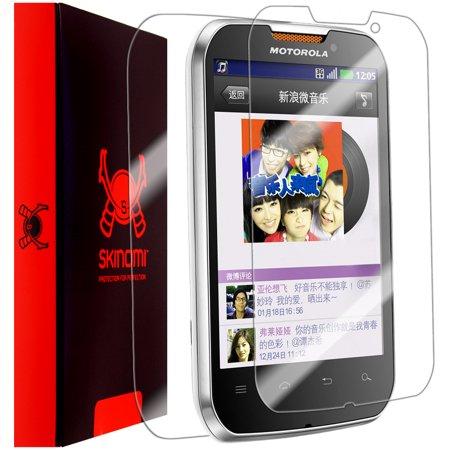 Skinomi Clear Full Body Phone Protector Skin for Motorola Motosmart Mix