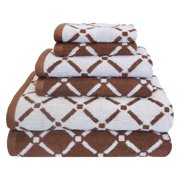 Impressions Redifer Diamond Cotton 6-Piece Towel Set