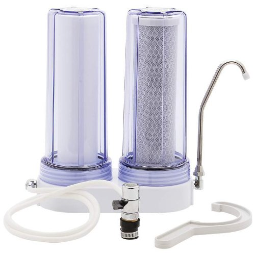 Countertop Dual-stage Water Filtration System