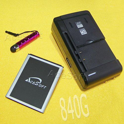 New High Quality 1370mah Li Ion Battery Travel Universal