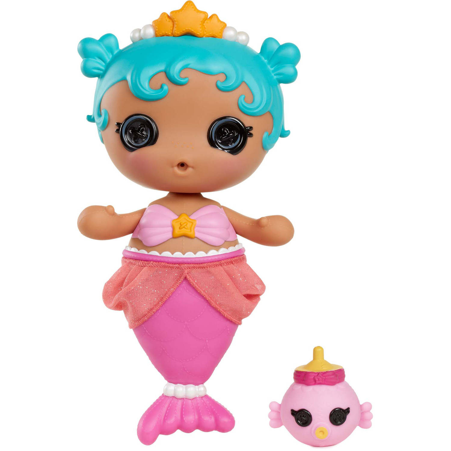 Lalaloopsy Babies Mermaid Doll, Sand E. Starfish