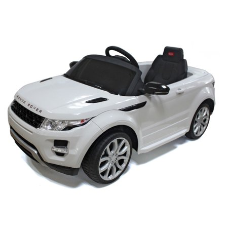 Red Range Rover (Vroom Rider Range Rover Rastar Battery Powered Riding Toy)