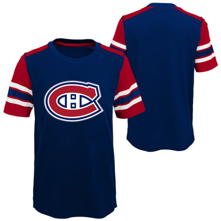 Outerstuff Youth Montreal Canadiens NHL Crashing The Net Fashion Tee - image 1 of 1