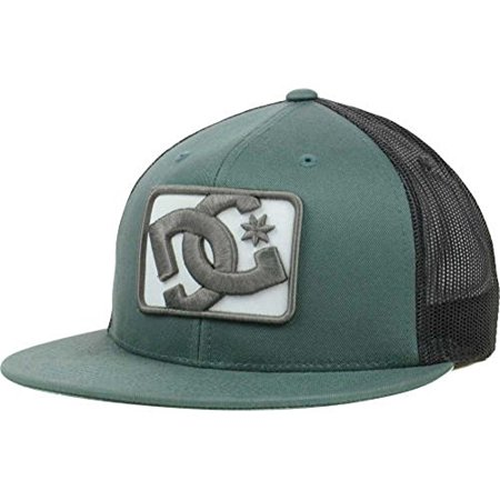 DC Shoes Passport Mesh Trucker Hat Cap Green Black Snapback - Dc Shoes Trucker Hat