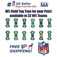 Pets First NFL Arizona Cardinals Football Field Pet Toy for DOGS/ CATS. Heavy-Duty, Durable toy with Squeaker