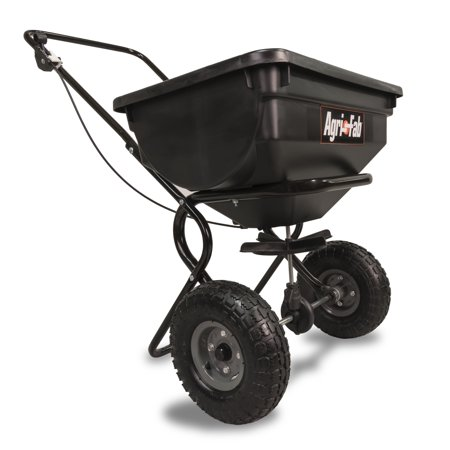 Agri-Fab, Inc. 85 lb. Broadcast Push Spreader Model #45-03882- (Best Push Fertilizer Spreader)